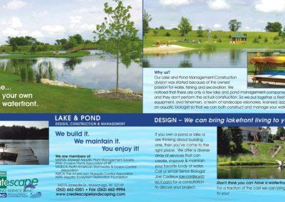Pond Brochure